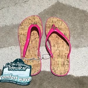 Tidewater flip-flops (Sunset pink)